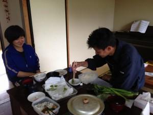 天ぷら、食いきれないっすね~