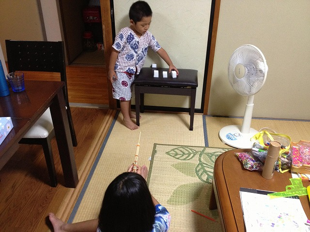 子どもとの時間 ~遊びは自分で作るもの~