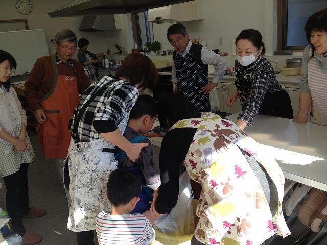 味噌作り教室@向山美和子の料理教室を行いました