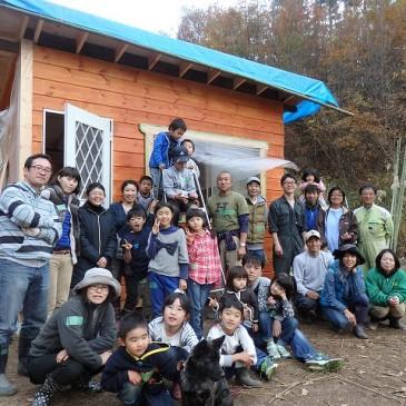 小屋作りワークショップ