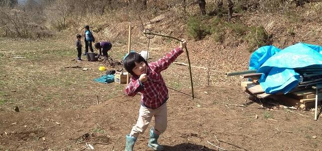 里山で遊ぼう!2019 第三回 ~弓矢作り~