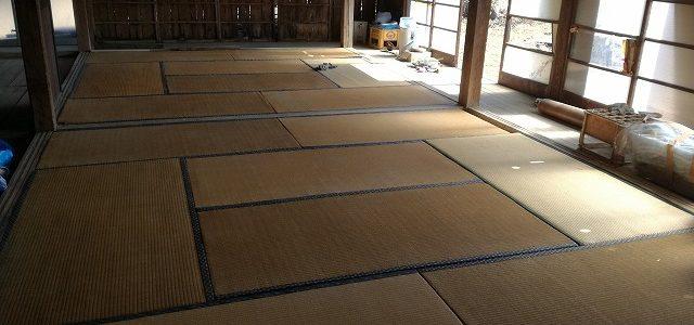 ビヨンド自然塾フィールド施設の改修 ~畳張り~
