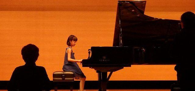 子供たちのピアノ発表会