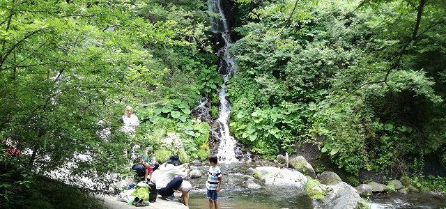 友達が北杜市に! ~吐竜の滝、ひまわり~