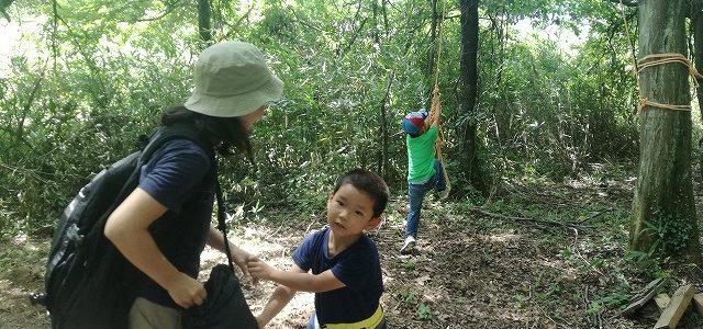 自然の中での子育て オープンファーム