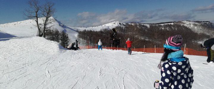 友達家族とスキー!