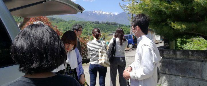 静岡県立大学の津富ゼミが合宿に!