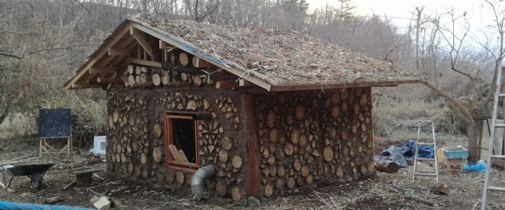 木と土の家作り ~草屋根~