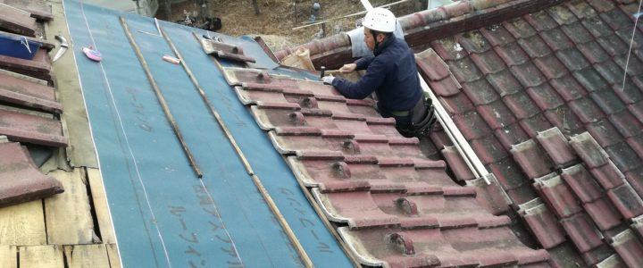お試し滞在施設 みんなの家@武川の屋根修理