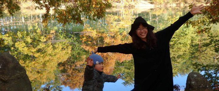 素晴らしい紅葉!! ~伊奈ヶ湖~