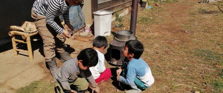子連れでボランティア・自由保育