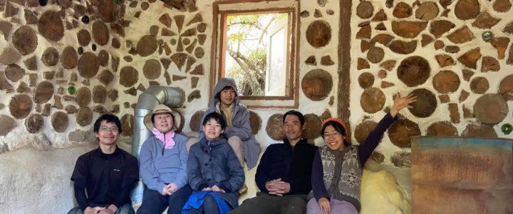 木と土の家づくりワークショップ参加者との再会