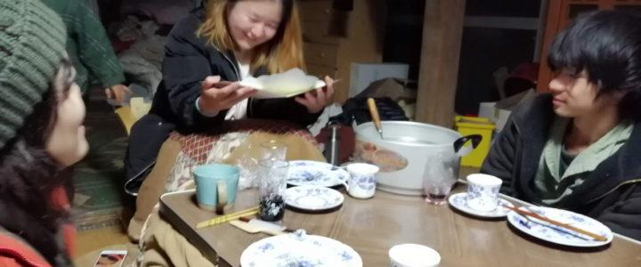 インターンの張さん、京都に戻りました